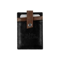 Westbridge Two-Tone RFID Leather Money Clip/Card Case