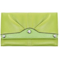 Eveline Tri-fold Snap Closure Wallet