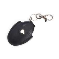 611-5 Bluetooth Tracking Smart Tag with Genuine Leather Key Fob Ring Organizer
