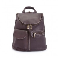 Tablet Ipad Backpack In Handcrafted Colombian Genuine Leather