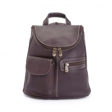 632-VL Tablet Ipad Backpack In Handcrafted Colombian Genuine Leather