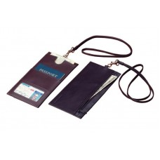 Harness Cowhide Leather Security Wallet