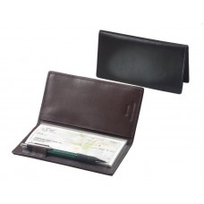 Cowhide Napa Leather Simplified Checkbook Secretary