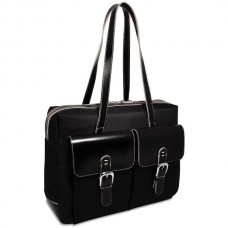 Generations Zippered Business Tote W Front Pockets