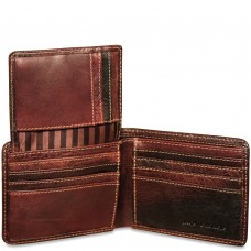 Voyager Bifold Wallet With Id Flap 7302