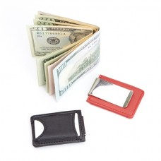 815-5 Bluetooth Tracking Wallet Tag Device Inside Slim Genuine Leather Money Clip Wallet