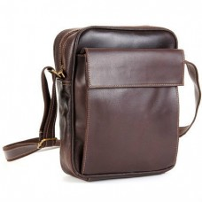 Distressed Leather Ipad/E-Reader Carry All Bag