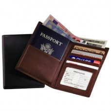 RFID222-5 Rfid Blocking Passport Currency Wallet